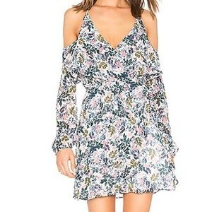 NWT BCBGeneration floral cold shoulder dress